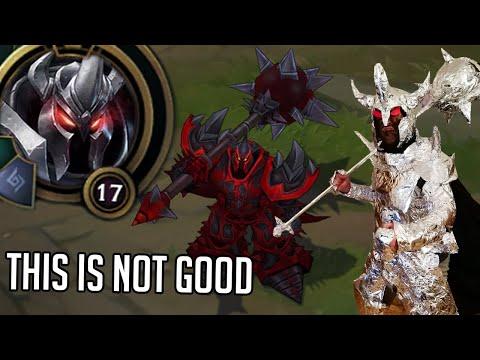 League of Legends but Mordekaiser is still an old mess