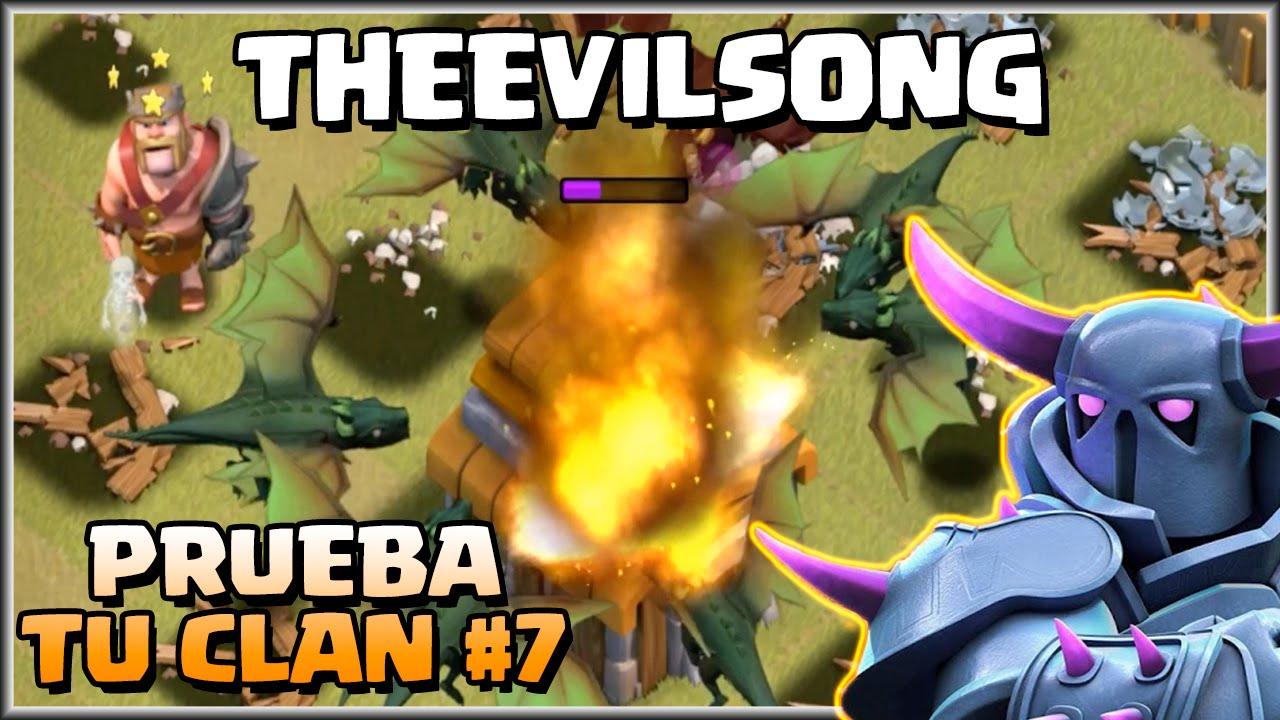 Ver PRUEBA TU CLAN #7 – THEEVILSONG – A por todas con Clash of Clans – Español – CoC en Español Online