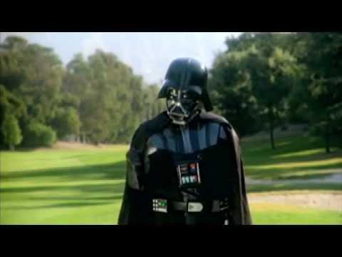Darth Vader gra w golfa