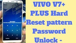 vivo v7 - V7 plus unlock pattern - Screen Lock & FRP Reset