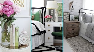 ❤ DIY Shabby Chic Style Night Stand Decor Ideas ❤| Home Decor & Interior Design | Flamingo Mango