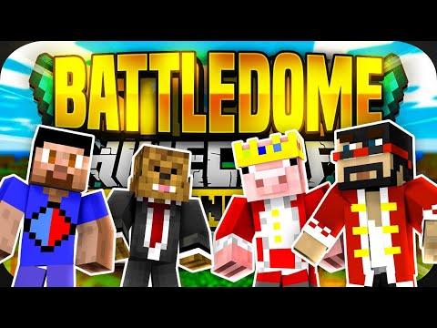 Minecraft Monday BATTLEDOME EVENT! Ft. Technoblade, CaptainSparklez & More!