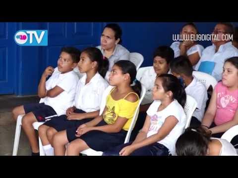 Bibliotecarios municipal realizan conversatorio de la historia de Masaya con estudiantes de secundaria