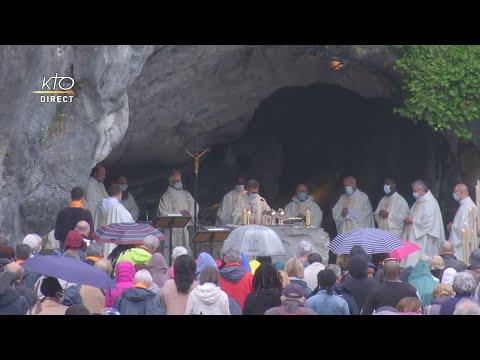 Messe de 10h à Lourdes du 3 juin 2021