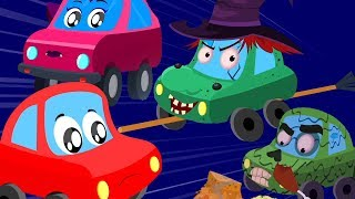 Ghosts They Walk Tonight | Little Red Car | Fun Halloween Song