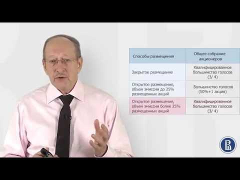 1 3 Этапы эмиссии ценных бумаг Принятие решения о выпуске ценных бумаг