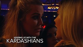 KUWTK |  Khloé Kardashian Pissed at Kylie Jenner for Ditching Them | E!