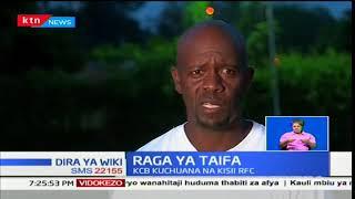 Timu ya raga ya KCB kuchuana na Kisii RFC