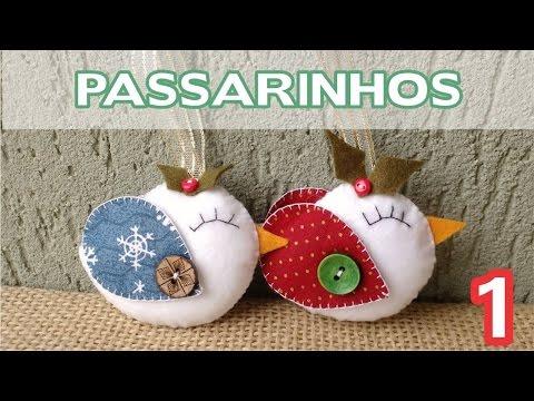 Enfeite Passarinho