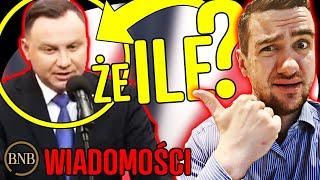 WPADKA Andrzeja Dudy! Myślał, że mieszkanie w Polsce kosztuje… | WIADOMOŚCI