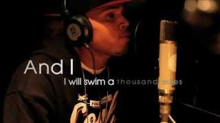 Chris Brown - Treading Water [Lyric Video]