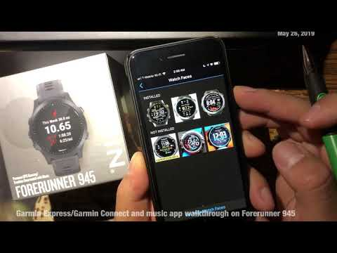 Garmin Fenix 5 top 5 watch faces from Garmin Connect - смотреть