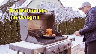 Brathähnchen im Gasgrill  / Weber Genesis II E-410 / Folge 28