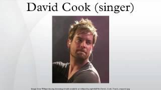 David Cook Singer