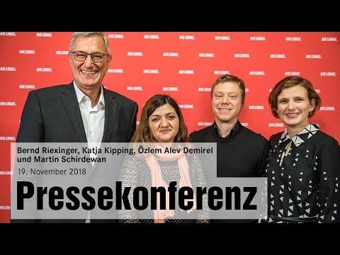 Pressekonferenz am 19. November 2018