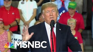 Hurricane Hits Florida While President Donald Trump Campaigns In Pennsylvania | Hardball | MSNBC