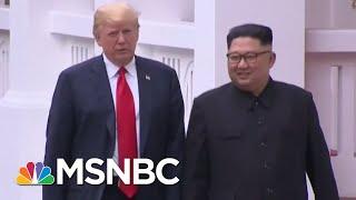 President Donald Trump Says Meeting With Kim Jong-Un Went 'Better Than Expected'   Hardball   MSNBC