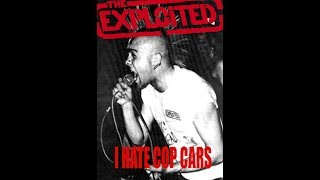 The Exploited - I Hate Cop Cars (police cruiser destruction footage)