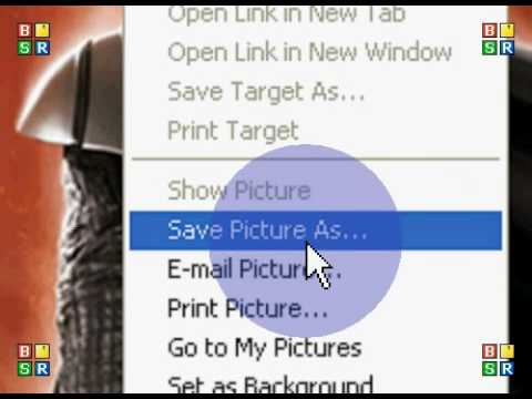 How To: Save an Image from the Internet to your Computer / PC