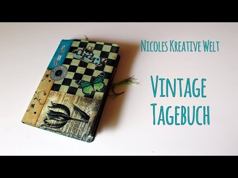 [Craft Update #15] Vintage Tagebuch (Vintage Diary) |HD|