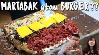 GOKIL!! Martabak Cheeseburger & Martabak Ayam Geprek ?! AWAS NGILER !!