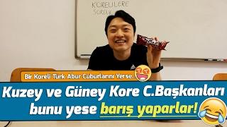 Bir Koreli'ye Türk Abur Cuburları Denettik!