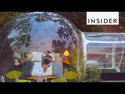 France's Bubble Hotel Lets You Sleep Under the Stars