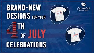 4th Of July Independence Day New Designs Celebrations By Cre8iveskill.