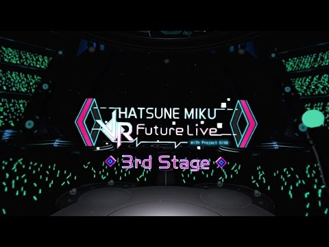 Hatsune Miku: VR Future Live - 20 Minute 3rd Stage Playthrough [PS4] thumbnail