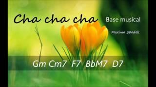 BASE MUSICAL DE CHA CHA CHA LATINO EN G, PARA PIANO, GUITARRA, TROMPETA, SAXO, PERCUSION, ETC
