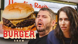 H3H3 Productions Eats the World's Spiciest Burger | The Burger Show