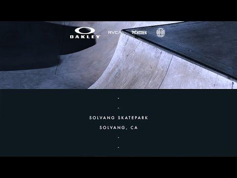 Brad McClain | On Location - Solvang Skatepark - Solvang, CA