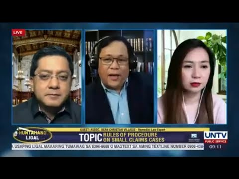 [UNTV]  Huntahang Ligal | October 29, 2020 – LIVE REPLAY