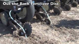 Schaffert Out the Back Fertilizer Disc 2x2 system