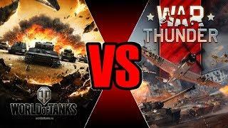 World of tanks VS War Thunder сравнение игр на стриме + РОЗЫГРЫШ