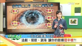白內障提早上身?眼科專家的護眼處方學起來!健康2.0 (完整版)