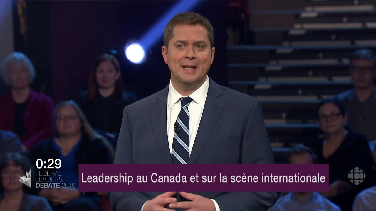 Andrew Scheer répond à la question d'un citoyen sur les relations avec les provinces