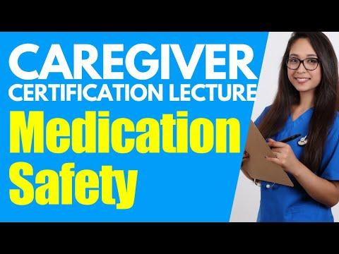 Home Caregiver Certification: Medication Safety | Homecare Aide Training | Caregiver Training