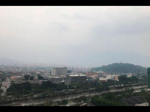 Calidad del aire este martes en Medellin es dañino para grupos sensibles