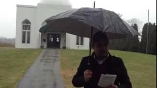 M. R Bawa Muhaiyaddeen M (RM) mazar sharif in Pensilvaniya, USA