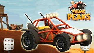 Игры про гоночные машинки Prime Peaks катаемся на пляжном багги мульты развивающие