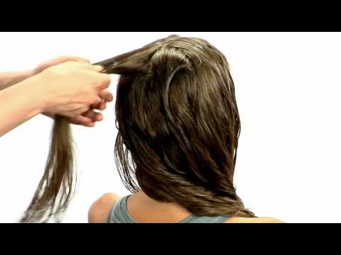 Castor oil at hair mask