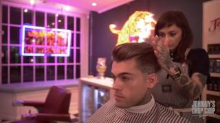 STEPHEN JAMES | whoiselijah | Haircut & Hairstyle at Johnny's Chop Shop
