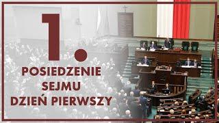 NA ŻYWO 1. posiedzenie Sejmu IX kadencji