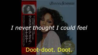 "Donna Summer - Happily Ever After LYRICS - SHM ""Once Upon A Time"" 1977"