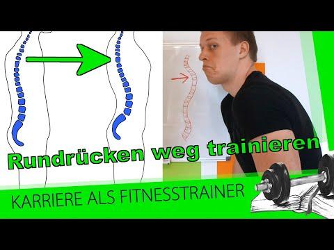 Rundrücken (Hyperkyphose) wegtrainieren: 3 Trainingstipps für aufrechte Körperhaltung