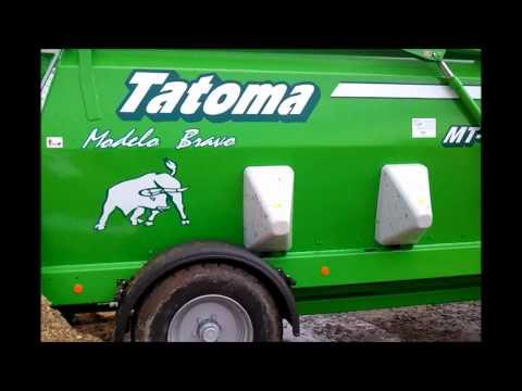 Tatoma Tatoma gezogener Futtermischwagen MT-13-D