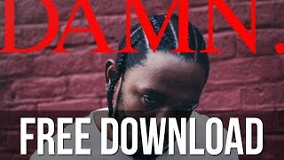 Kendrick Lamar - DNA. (Instrumental) Free Download