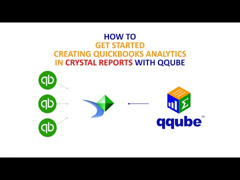 Creating Quickbooks analytics in Crystal Reports using QQube
