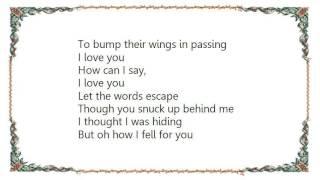 Chris Rice - Let the Words Escape Lyrics